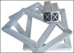 品纯宝800 丝印铝框/网框 交叉型 30*40*2.0mm 70*80cm 3m
