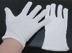 作业手套、QC手套、 白色 12双/包