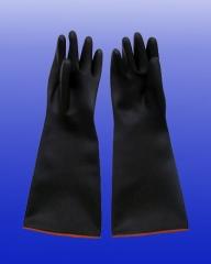五羊牌 耐酸碱手套 黑色