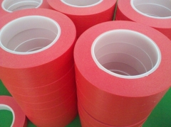耐高温红色美纹胶带/胶纸 10mm*33m/卷 耐高温180度