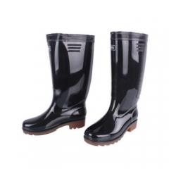 高筒水鞋 黑色 38#