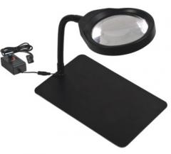 可调台式LED放大镜 8X