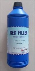 雅士图 红色补边剂/网版封边胶 1L/瓶
