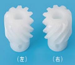 品纯宝 10齿  包胶水平线通用螺旋齿轮 PVDF 10T/M2,Ø15*D14
