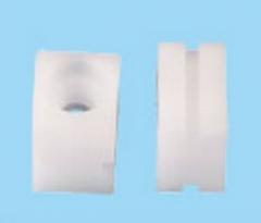 包胶水平线通用磨板机塑胶件系列 喷砂机行辘轴承座 31.5L*24.5W 厚度20mm