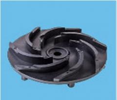 水平线通用耐酸碱水泵系列7.5HP 叶轮 7叶(Ø16轴,圆孔)卡槽烧焊 (来样订做)