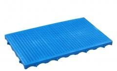 品纯宝832 塑料地垫板物流地卡板仓库防潮垫板 地台板 21# 1000*600*50mm