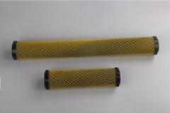 碳纤维碳芯 白网/ 带骨架 10寸 10inch-50支/箱