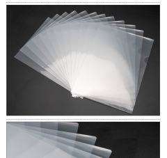 文件袋透明单页夹/A4二页文件套