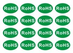 环保 ROHS标签 14*25mm