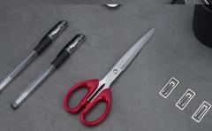 多功能不锈钢剪刀 颜色随机发